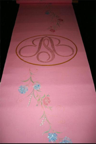Aisle Runners  Weddings on Pink Aisle Runners For Weddings